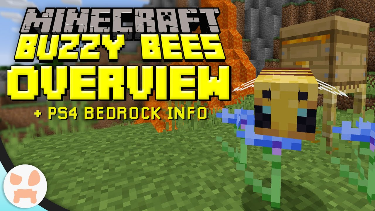 Buzzy Bees Update + PS8 Bedrock OUT NOW!  Minecraft 8.85 Update Overview