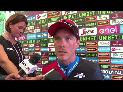 Rohan Dennis - Post-race interview - Stage 16 - Giro d'Italia / Tour of Italy 2018