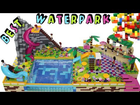 Lego Friends Water Park with Slide by Misty Brick.