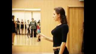 Эпизод о спортивных бальных танцах