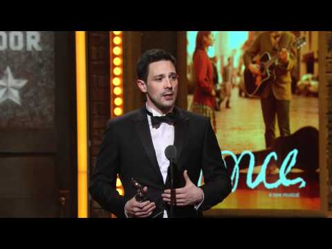Acceptance Speech: Steve Kazee (2012) - YouTube