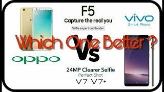 vivo v7 vs oppo f5 spesification