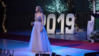 Daphne Charrois _ For Good (Wicked) at MCHS Grad 2019