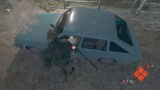 【13日の金曜日】ケツで車を破壊する殺人鬼に発狂する外国人 #2  friday the 13th the game