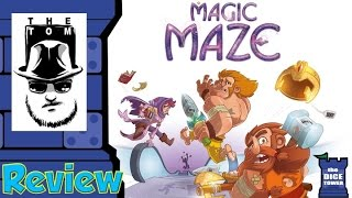 Magic Maze Review - with Tom Vasel