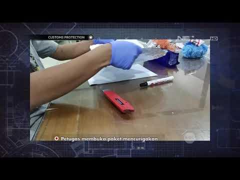 Bubuk Kristal Putih Didalam Gulungan Benang yang Dikendalikan dari Sel