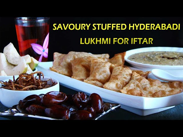 Savoury Stuffed Hyderabadi Lukhmi For Iftar