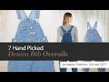 7 Hand Picked Denim Bib Overalls Amazon Fashion, Winter 2017