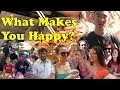 Happiness Project: What Makes You Happy? - Jerry Liu