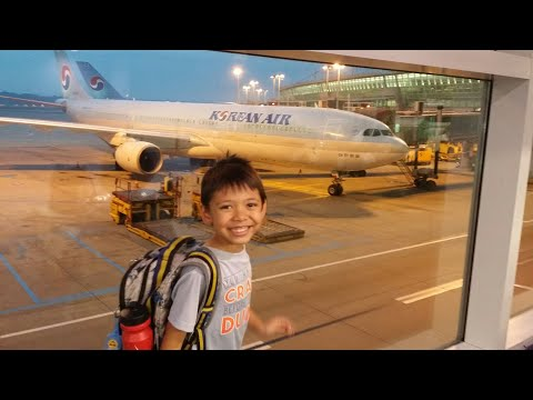 Lucky's World Adventure: From Incheon, Korea to Manila, Philippines with His Airplane Safety Guide