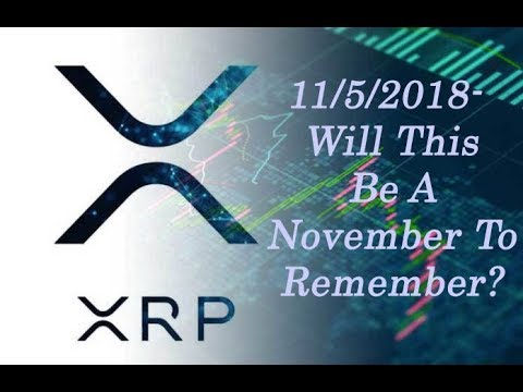 XRP King of Coins: Remember Remember The 5th of November... Will This Be A Big Day For XRP?