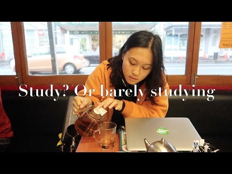 Study WITH ME | BEST Study Cafes in Auckland [Day in the life]