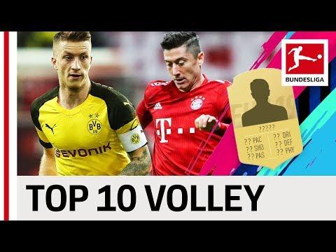 Top 10 Volleys - EA SPORTS FIFA 19 - Reus, Lewandowski & More