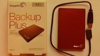 Портативный жёсткий диск 1Tb USB 3.0 Seagate Backup Plus Portable Drive (Seagate STDR1000203)