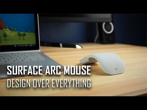 Surface Arc Mouse Revisited: Design Over Everything