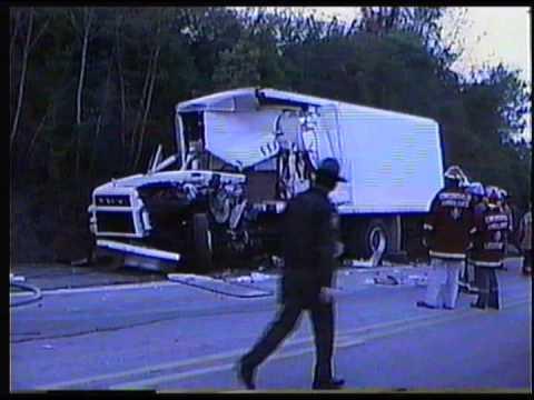 1980's Concordville, PA,  Accident Route 322 near Route 1