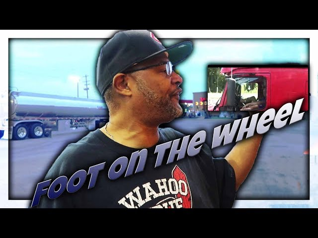 Top 5 Trucking Companies | Truck Driver Driving With His Feet