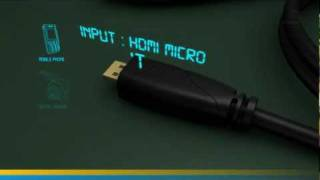Micro HDMI Cable with Ethernet (Ivuna Advanced High Speed )