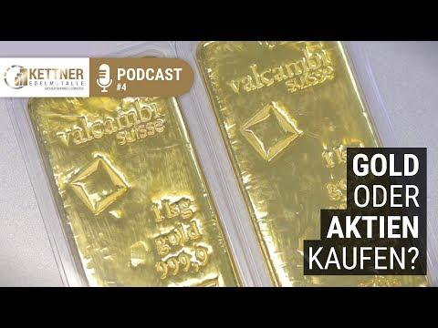 Gold vs. Aktien - Aktien-Experte Gero Gode (Podcast #4)