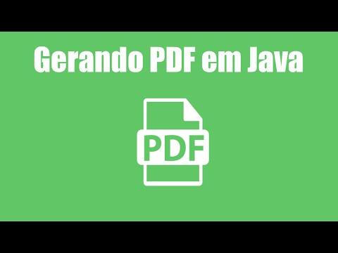 Gerando PDF em Java - iText
