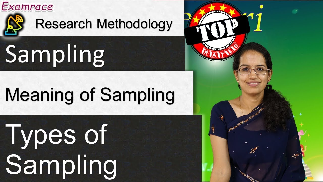 Sampling & its 8 Types: Research Methodology - YouTube