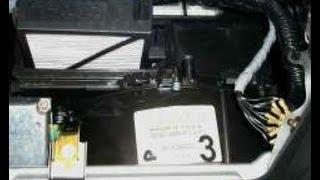 Как заменить воздушный фильтр кабины на Honda Civic