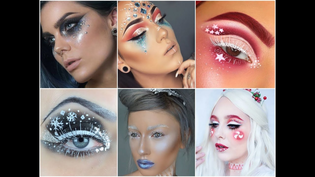 2019 New Year and Christmas Makeup Ideas For Fashion Look