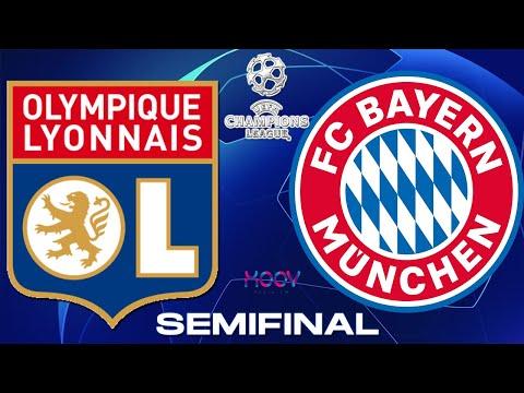 OLYMPIQUE LYON vs BAYERN MUNICH - EN VIVO #CHAMPIONSLEAGUE #UEFA SEMIFINAL NARRACION RADIO