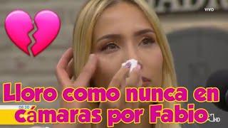 Luisa Fernanda W - LLORÓ como nunca al recordar a Fabio Legarda en homenaje por RCN 💔💔
