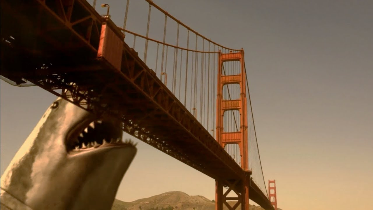 상어가 커봤자, 얼마나 크겠......어?    [메가샤크1]
