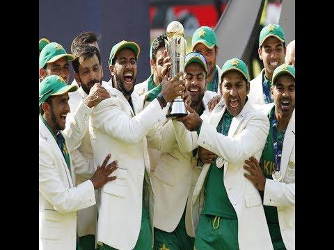 Pakistan beats India by 180 runs, wins ICC Champions Trophy
