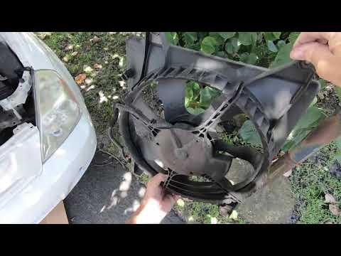 Cooling Fan Replacement Kia Sedona