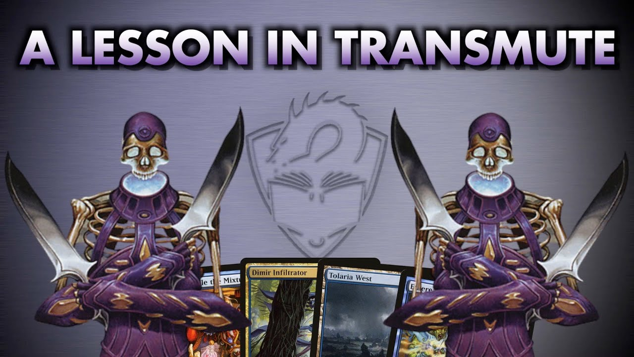 A Lesson In Transmute | Magic: The Gathering Commander Card Class
