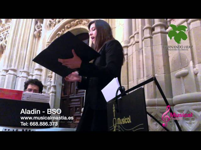 Aladin Catedral de Murcia Comunion MURCIA Musical Mastia soprano