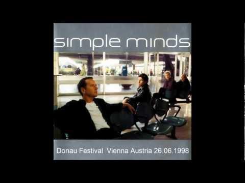 Simple Minds - Donau Festival Vienna Austria 26.06.1998