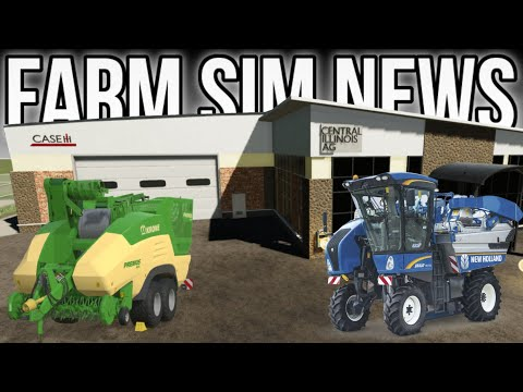 FARM SIM NEWS! New Mods & Maps Coming Soon! | Farming Simulator 19