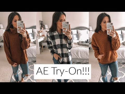 American Eagle & Aerie Try-ON! Black Friday Deals Begin!