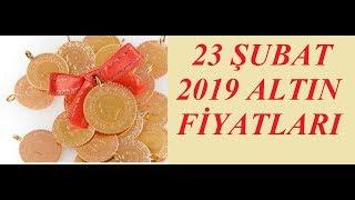 23,02,2019 Altın Fiyatları Dolar Fiyatları Euro Ne Kadar Sterlin Kaç Lira