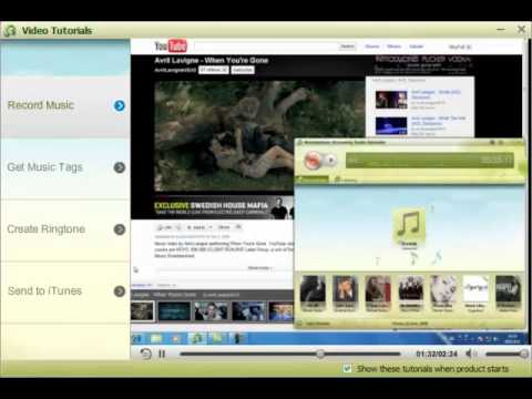 Record Music Record Audio on Mac OS X Mountain Lion and Windows
