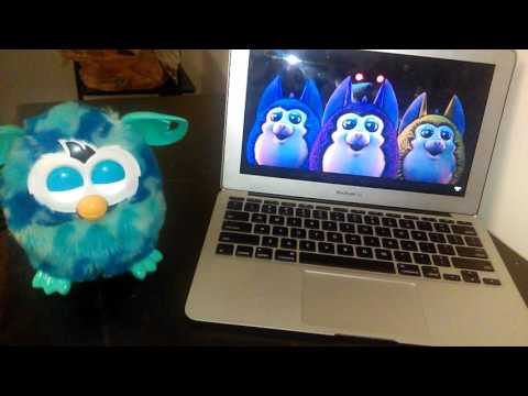 Furby Reacts to Come to Mama