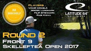 Skellefteå Open 2017 Round 2 Front 9