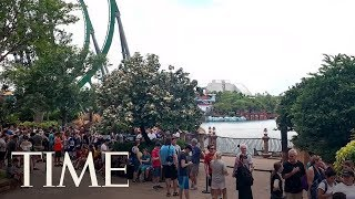 Harry Potter Fans Wait Up To 10 Hours To Ride Universal Orlando's Newest Roller Coaster | TIME