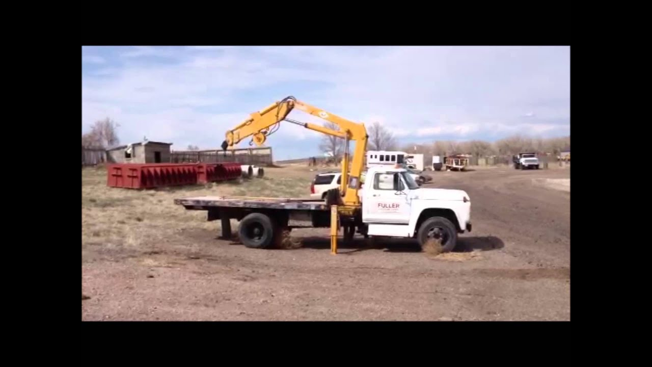 International Trucks For Sale >> 1979 Ford F600 flatbed truck for sale | sold at auction June 13, 2013 - YouTube