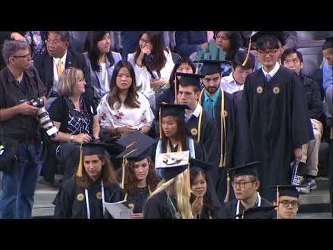 2018 Spring Commencement, Morning Bachelor's Ceremony