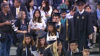 2018 Spring Commencement, Morning Bachelor\'s Ceremony