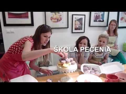 Kucharky.sk - škola pečenia na tému Makrónky s Miriam Šmahel Kalisovou 30.5.2015