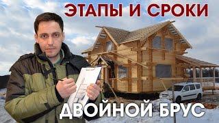 видео Правильный жилой дом из строительного бруса