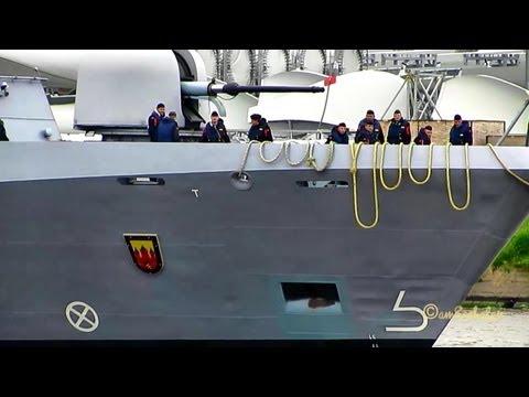 Korvette OLDENBURG F263 MMSI 211913000 Emden Bundesmarine Marine BRD Deutschland Germany