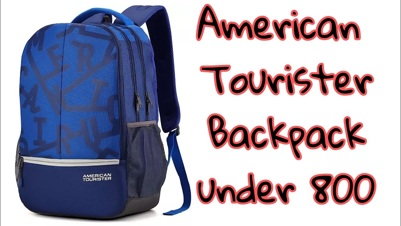 a884a362b344b4 American Tourister Fizz sch 32.5L Backpack | Unboxing - YouTube