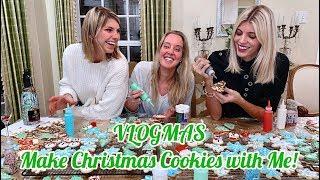 VLOGMAS   Make Christmas Cookies with Me   Devon Windsor